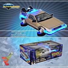 Diamond Select Toys - 1:15 Scale Back To The Future II Time Machine Exclusive