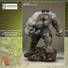 Sideshow Collectibles - 1/4 Scale Premium Format - Gray Hulk Statue