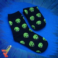 Aliens (The Extraterrestrial) - Crew Socks (Unisex)