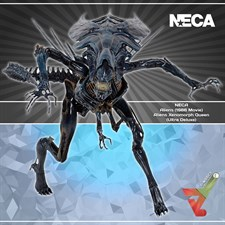 NECA - Aliens (1986 Movie) - Aliens Xenomorph Queen (Ultra Deluxe) (Re-production 2018)