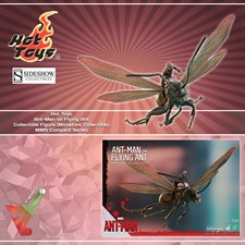 Hot Toys - Ant-Man on Flying Ant Collectible Figure (Miniature Collectible) - MMS Compact Series