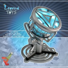 Toys Legend - 1:1 (Marvel Iron Man) Tony Stark - ARC Reactor (Cosplay/Props) (LED Light-Up)