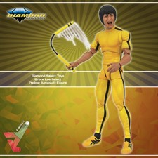Diamond Select Toys -Bruce Lee Select - (Yellow Jumpsuit) Figure