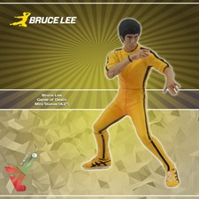 Bruce Lee - Game Of Death Mini Statue
