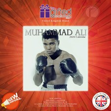 Muhammad Ali (Icons) (Branded 2020 Wall Calendar) By The Gifted Stationary Co. Ltd. UK