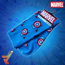 BioWorld - Marvel - Captain America - Crew Socks (Unisex)
