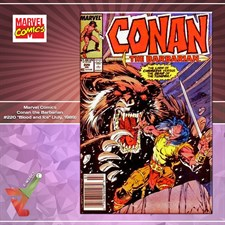"Marvel Comics: Conan the Barbarian #220 ""Blood and Ice"" (July, 1989)"