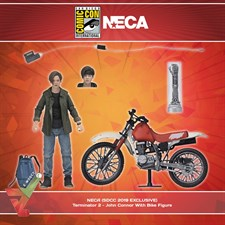 NECA (SDCC 2019 EXCLUSIVE) - Terminator 2 - John Connor With Bike Figure