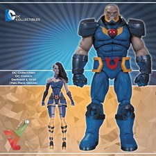 DC Collectibles - DC Comics Darkseid & Grail (Two Pack Deluxe)
