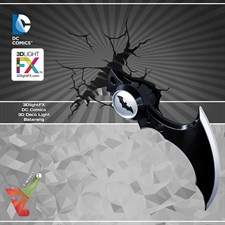 3DlightFX - DC Comics 3D Deco Light - Batarang
