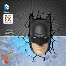 3DlightFX - DC Comics 3D Deco Light - Batman Mask