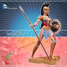 DC Collectibles -  Wonder Woman: The Art of War Statue By Amanda Conner