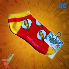 BioWorld - DC Comics - The Flash Logo 2.0 - Ankle Socks (Unisex)