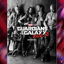 GUARDIANS OF THE GALAXY VOL.2 POSTER C