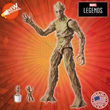 Hasbro - Marvel Legends - Guardians of the Galaxy - Groot Evolution