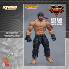 Storm Collectibles - Street Fighter V - Hot Ryu (Black Edition) (1/12 Scale Figure)