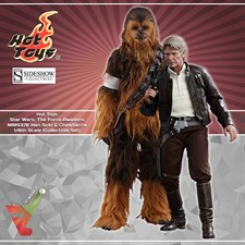 Hot Toys - Star Wars: The Force Awakens (MMS376) - Han Solo & Chewbacca (1/6th Scale Figures)