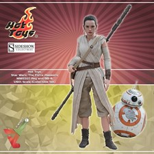 Hot Toys - Star Wars: The Force Awakens (MMS337) - Rey and BB-8 (1/6th Scale Figures)