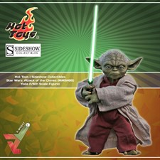 Hot Toys - Star Wars: Attack of the Clones (MMS495) - Yoda (1/6th Scale Figure)