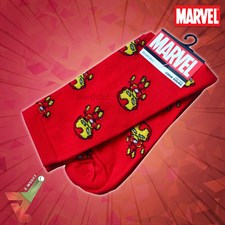 BioWorld - Marvel - The Iron Man - Crew Socks (Unisex)