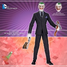 DC Collectibles - The Suited Joker - DC Designer By Greg Capullo