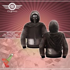 Mad Engine - Star Wars: The Force Awakens 'I Am Kylo Ren' - Costume Hoodie (Cosplay/Props)