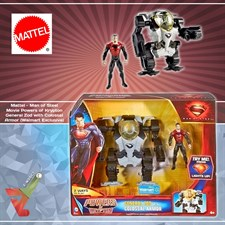 Mattel - Man of Steel - Movie Powers of Krypton - General Zod with Colossal Armor (Walmart Exclusive