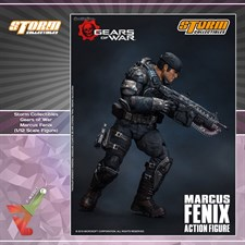 Storm Collectibles - Gears of War - Marcus Fenix (1/12 Scale Figure)