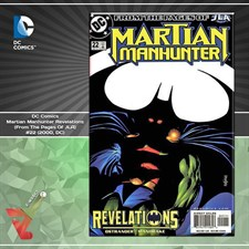 DC Comics: Martian Manhunter Revelations (From The Pages Of JLA) #22 (2000, DC)