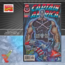 Marvel Comics: Captain America # 3 (Crossbones) (1997, MC)