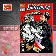 Marvel Comics: Deathlok Similar Machines (Part One) (Guest Starring) The Punisher (1991, MC)