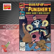 Marvel Comics: WHAT IF... The Punisher's Family Hadn't Been Killed #10 (1990, MC)