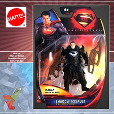 Mattel - Man of Steel - Shadow Assault General Zod