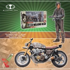 McFarlane Toys - The Walking Dead (TV Series) - Daryl Dixon with New Bike (Deluxe Boxed Set)