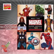 Marvel Comics: Meet The Marvel Super Heroes - Featuring over 100 Characters (Hardcover)