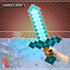 Minecraft - Foam Diamond - Sword (Cosplay/Props)