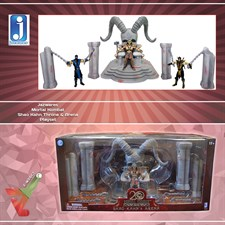 Jazwares - Mortal Kombat Playset - Shao Kahn Throne & Arena