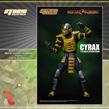 Storm Collectibles - Mortal Kombat VS Series - Cyrax (1/12 Scale Figure)