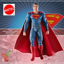 Mattel - Superman: Man of Steel Movie Masters - Superman