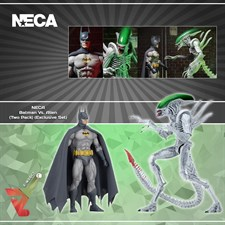 NECA - Batman Vs. Alien (Two Pack) (Exclusive Set)