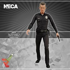 NECA - The Terminator 2 - Classic T-1000 Galleria Mall