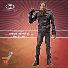 McFarlane Toys - The Walking Dead (TV Series) Color Tops Collector Edition (Red Wave #23) - Negan