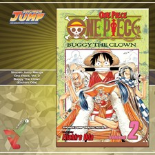 Shonen Jump Manga: One Piece, Vol. 2: Buggy the Clown (Eiichiro Oda)