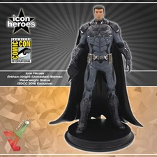 Icon Heroes - Arkham Knight (Unmasked) Batman - Paperweight Statue (SDCC 2016 Exclusive)