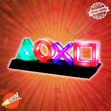 PlayStation Icons Table Light Lamp
