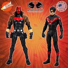 McFarlane Toys - DC Multiverse - Nightwing vs Red Hood (Two-Pack)