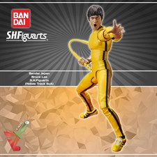 Bandai Japan - Bruce Lee S.H.Figuarts - (Yellow Track Suit)