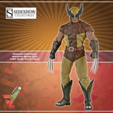 Sideshow Collectibles - Wolverine (Brown Suit) (1/6th Scale Figure)
