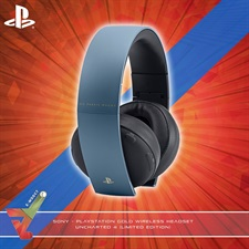 Sony - PlayStation Gold Wireless Headset - Uncharted 4 (Limited Edition)