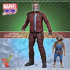 Marvel Select - Guardians of The Galaxy 2 - Star-Lord & Rocket Raccoon